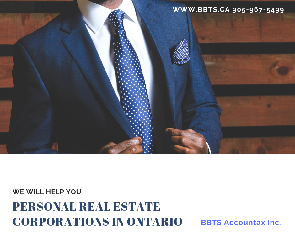 Personal Real Estate Corporations in Ontario